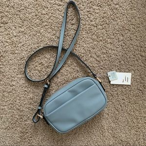 A New Day Blue Gray Crossbody Bag Purse